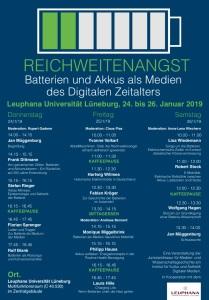 Konferenz Reichweitenangst Batterien und Akkus als Medien des Digitalen Zeitalters